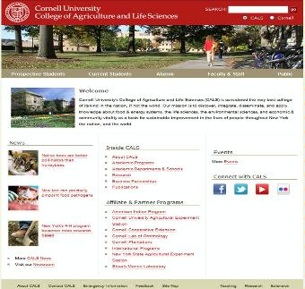 Cornell University College Agriculture and Life Sciences