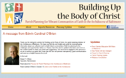 Building up the body of Christ site