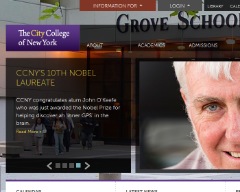 The City College of New York Web page
