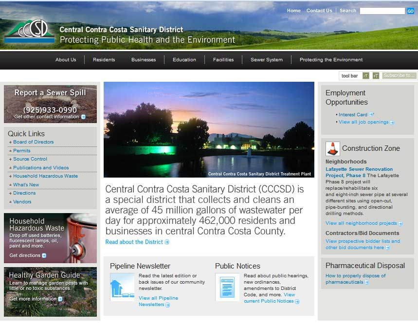 central-contra-costa-sanitary-district-website-page-1