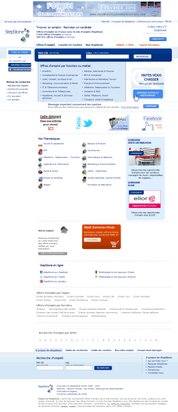 French Home Page
