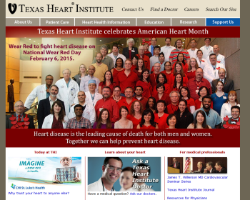 St. Luke's Episcopal Health System Web page