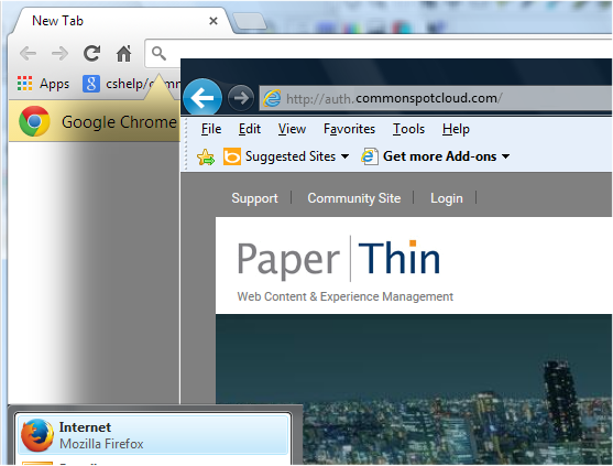 Cross-browser Authoring and Content Management