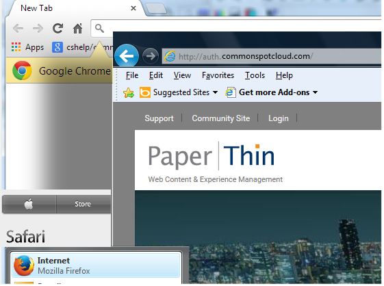 Cross-Browser Authoring