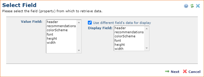 Multi Checkbox Field Type Allows Display of Different Value