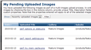 Multi-File Upload Feature Thumbnail