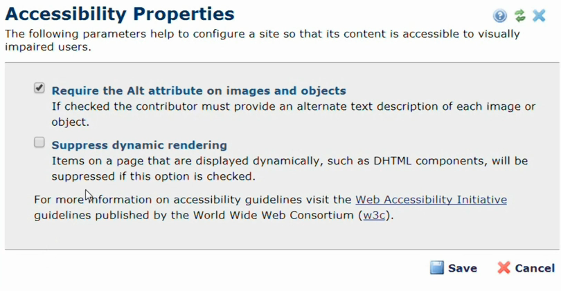Accessibility Properties