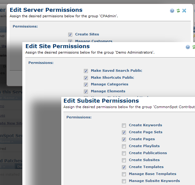Granular Permissions - Collaborative